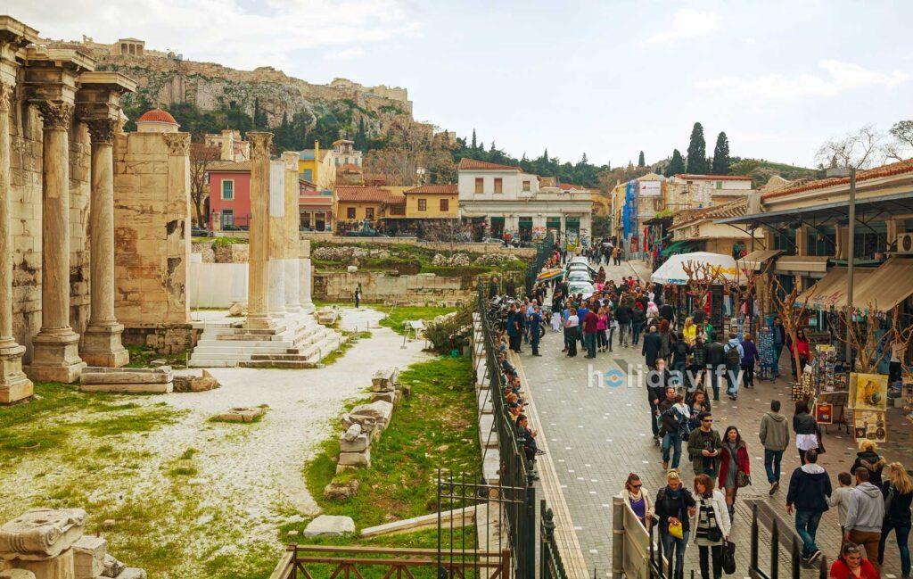 Atina'da Gezilecek Yerler, Yunanistan