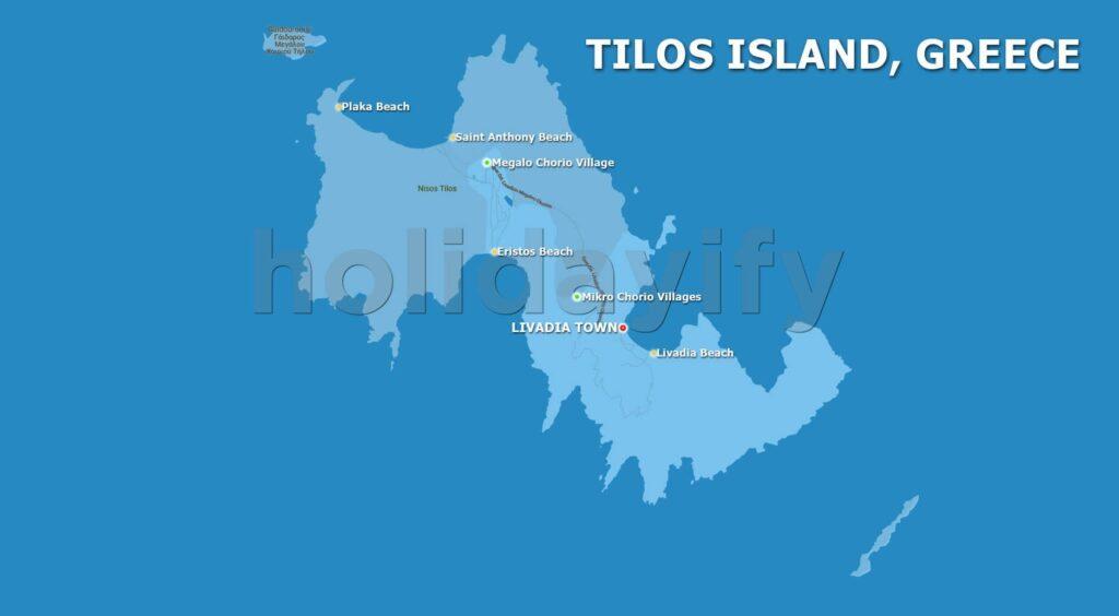 Tilos Plajları, Yunanistan