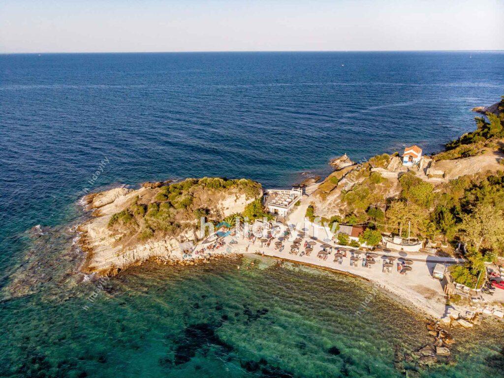 Thassos Karnagio Plajı