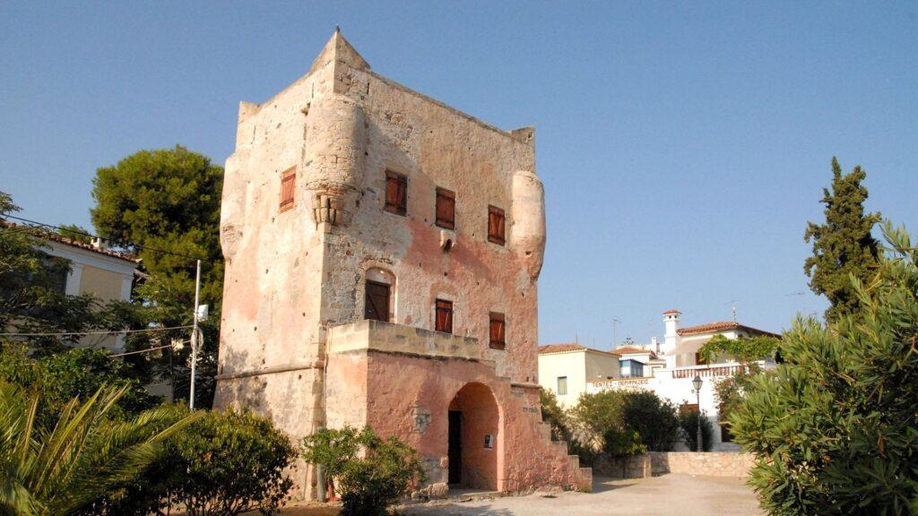 Markellos Kulesi, Aegina Adası, Yunanistan