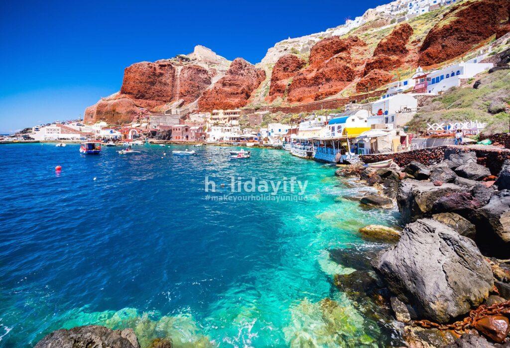 Ammoudi Koyu, Santorini Plajları