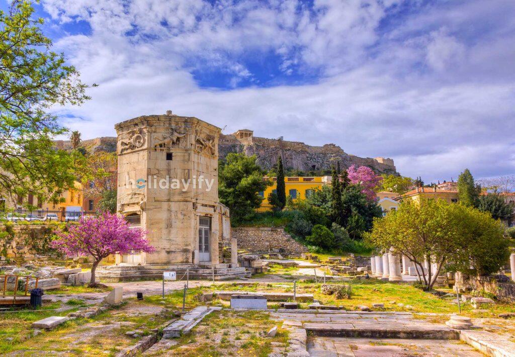Rüzgar Kulesi, Atina