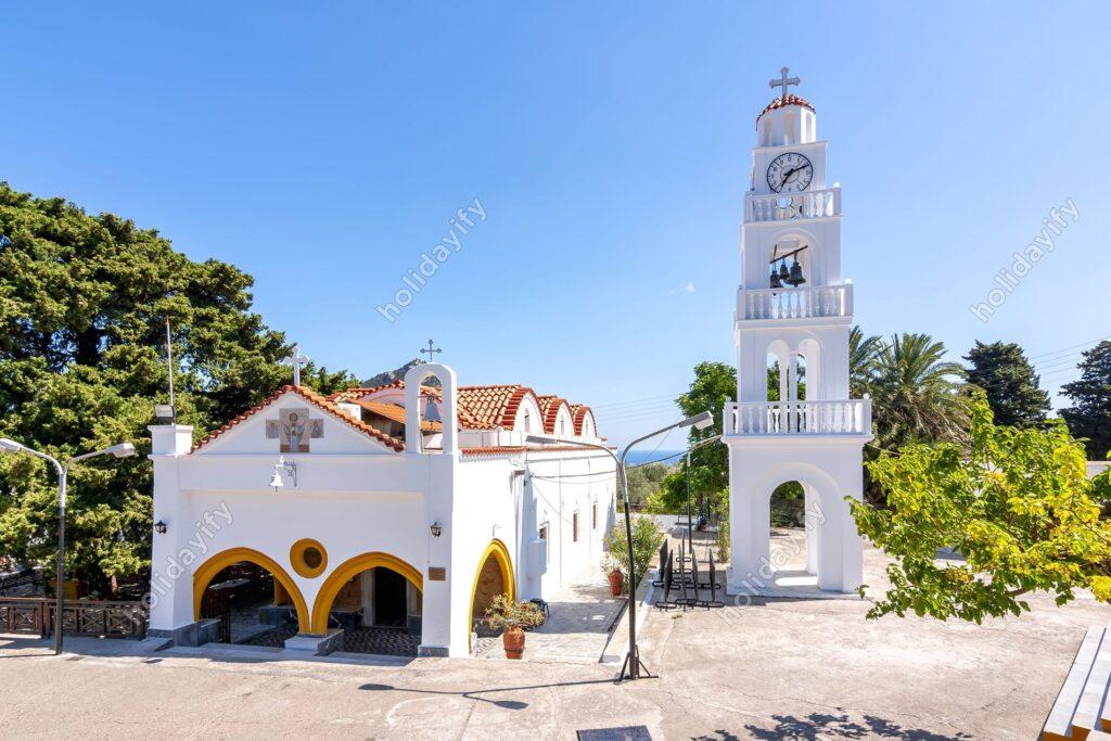 Rodos Tsambika Manastırı