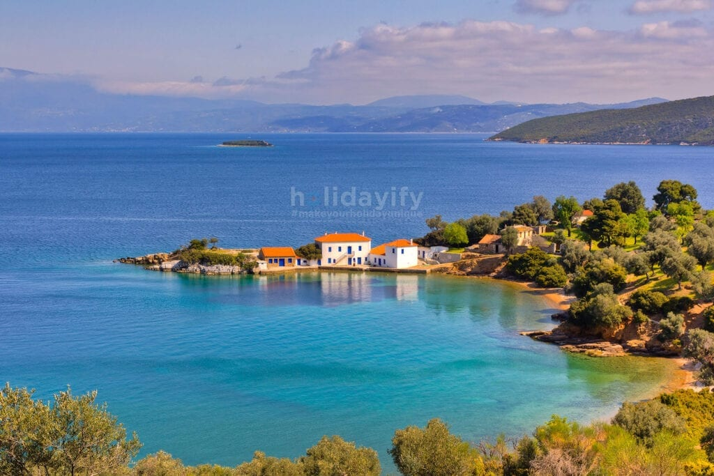 Tzasteni, Pelion, Yunanistan