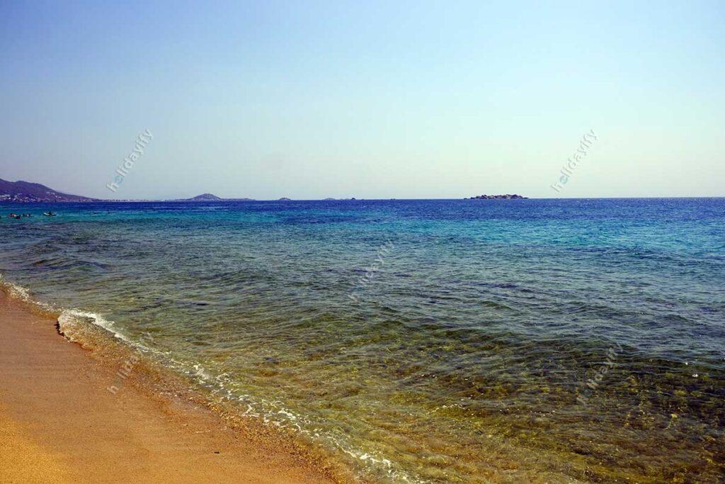 Plaka Plajı, Naxos (Nakşa) Adası