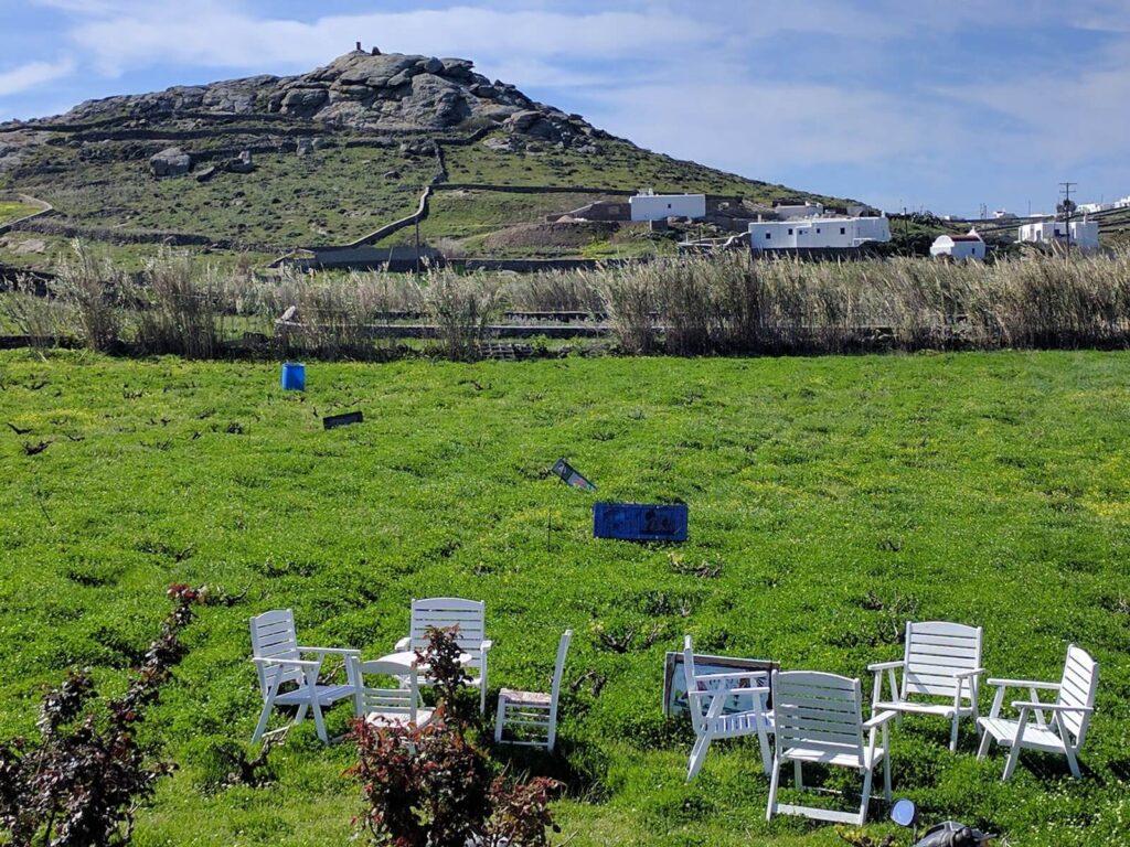 Vioma Organik Tarım Çiftliği, Mykonos