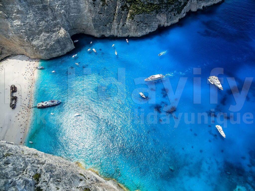 Shipwreck Plajı, Zakintos Adası (Zante)