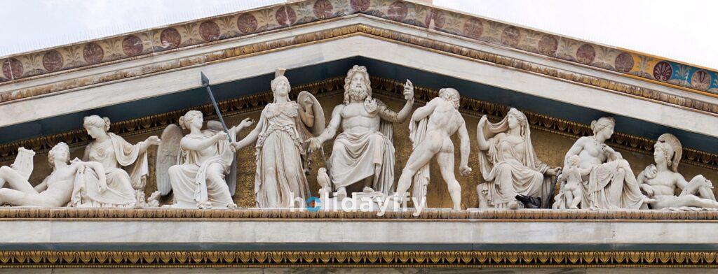 Yunan Tanrıları, Atina