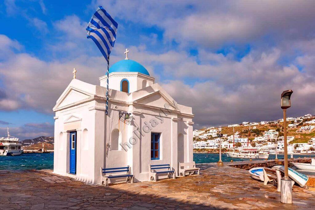 Agios Nikolaus Kilisesi, Mykonos adası
