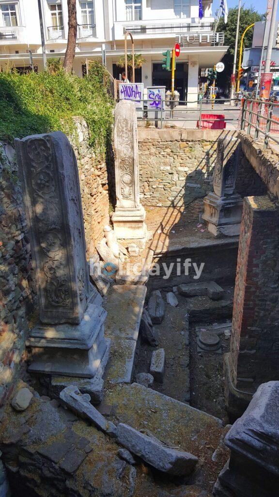 Selanik Şehir Merkezindeki Kazı, Yunanistan