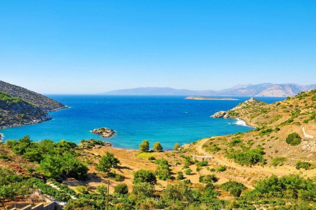 Agia Irini plajı
