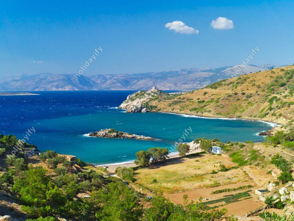 Didima plajı, Sakız adası