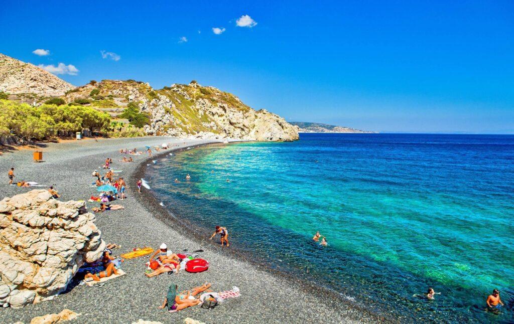 Emporios Mavros Gialos plajı