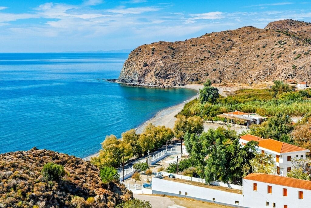 Agia Markella plajı