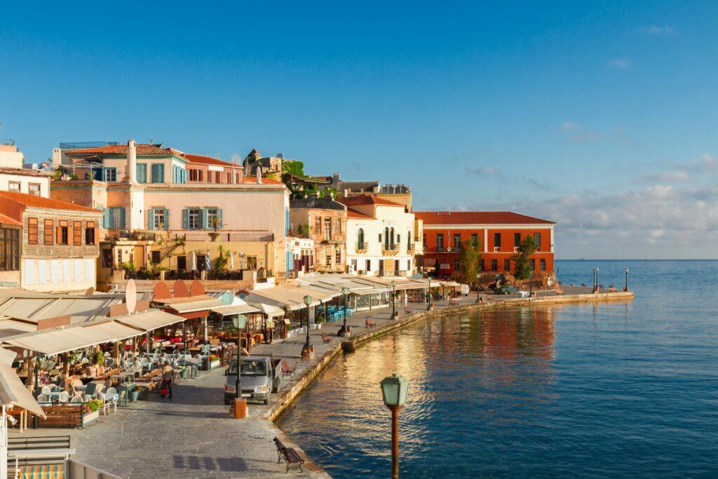 Hanya Şehri, Girit Adası, Yunanistan