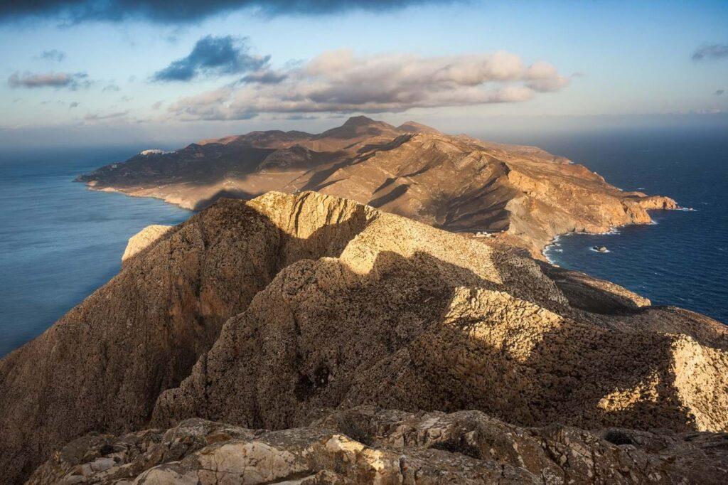 Anafi adası, Yunanistan