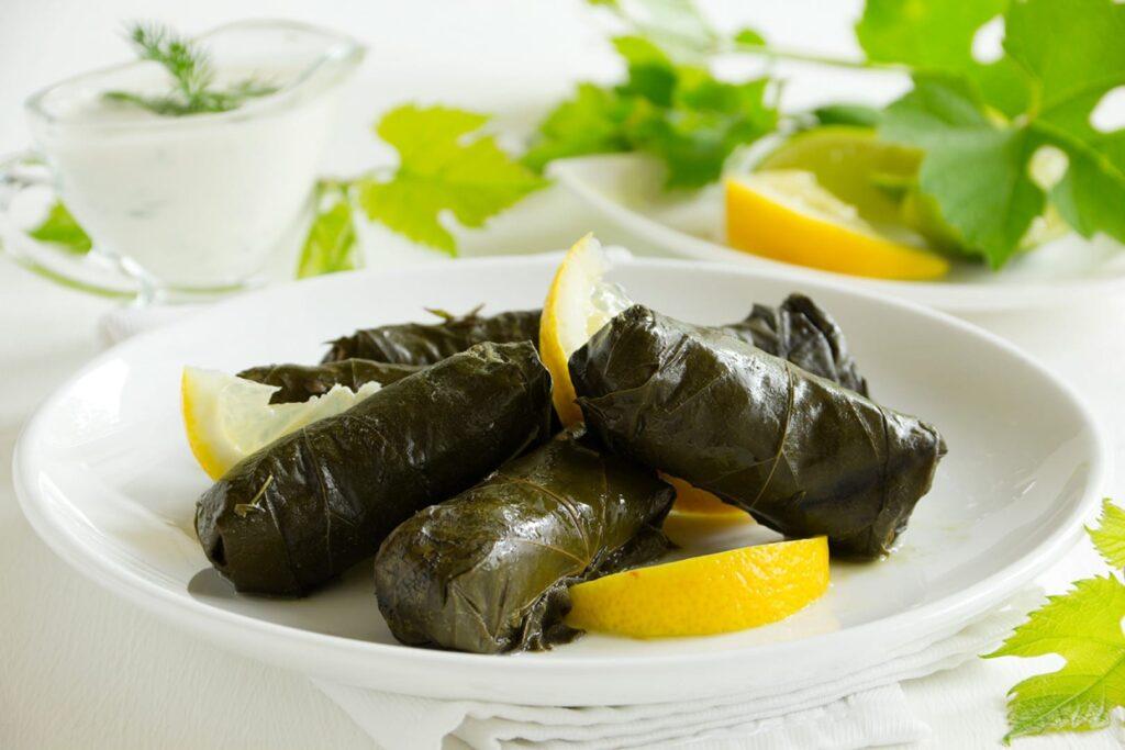 Dolmadakia (Sarma Dolması) - Yunan Mutfağı Yemekleri