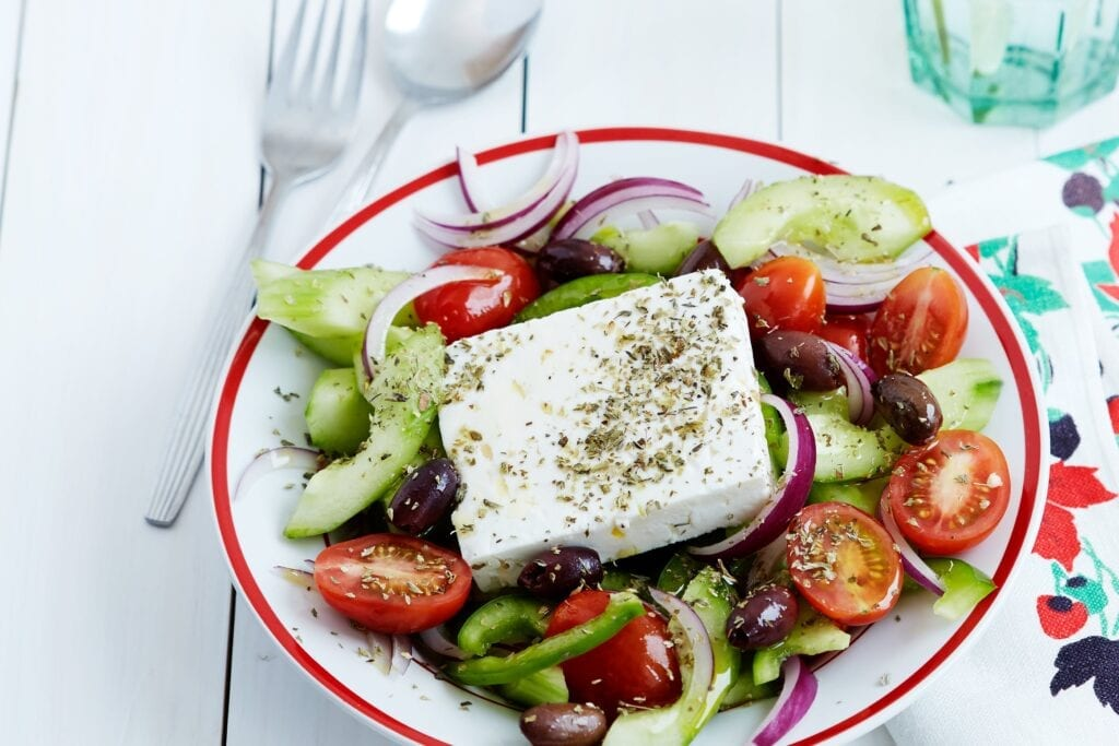 Yunan Salatası - Yunan Yemekleri