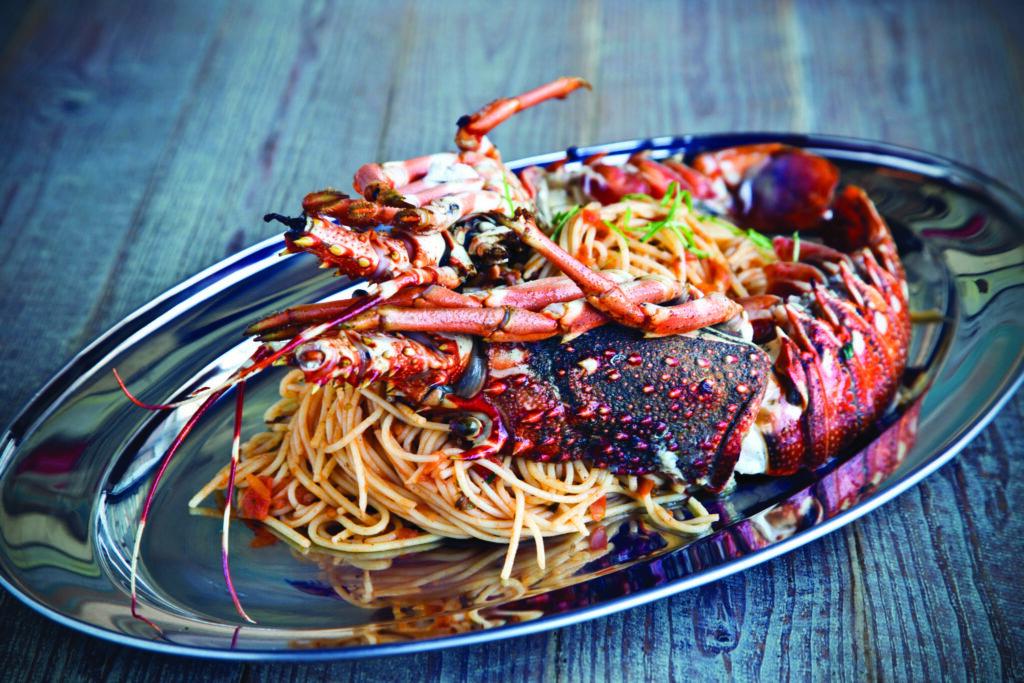 Istakozlu Makarna - Yunan Mutfağı,