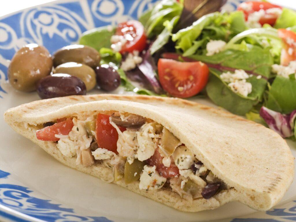 Pita Sandviç - Yunan Yemekleri