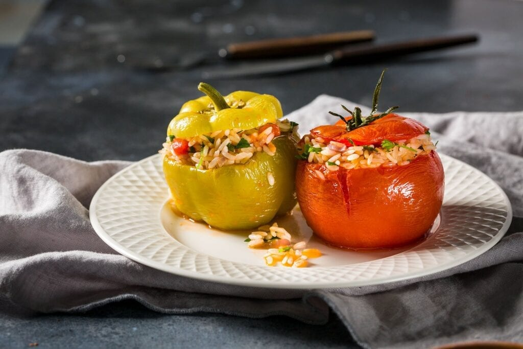 Yemista (Dolma) - Yunan Mutfağı Yemekleri
