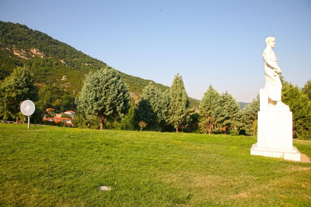 Aristoteles Parkı, Halkidiki, Yunanistan