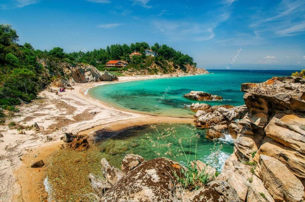 Halkidiki Vourvourou Beach