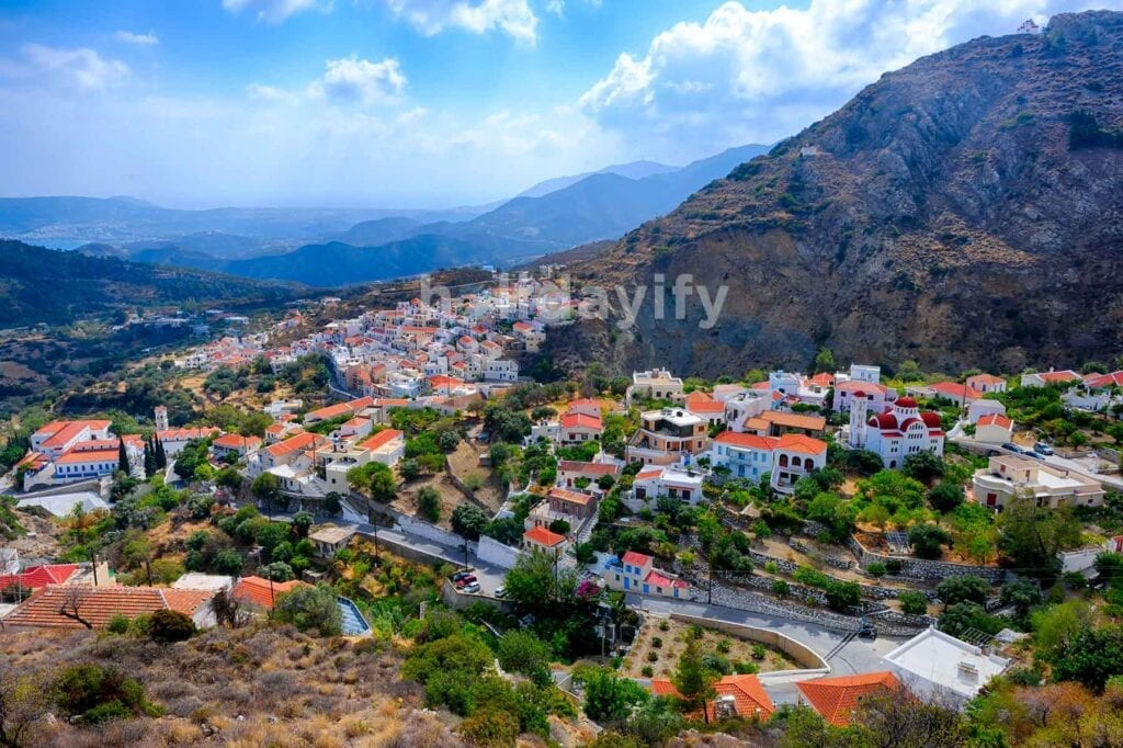 Karpathos Köyleri, Yunanistan