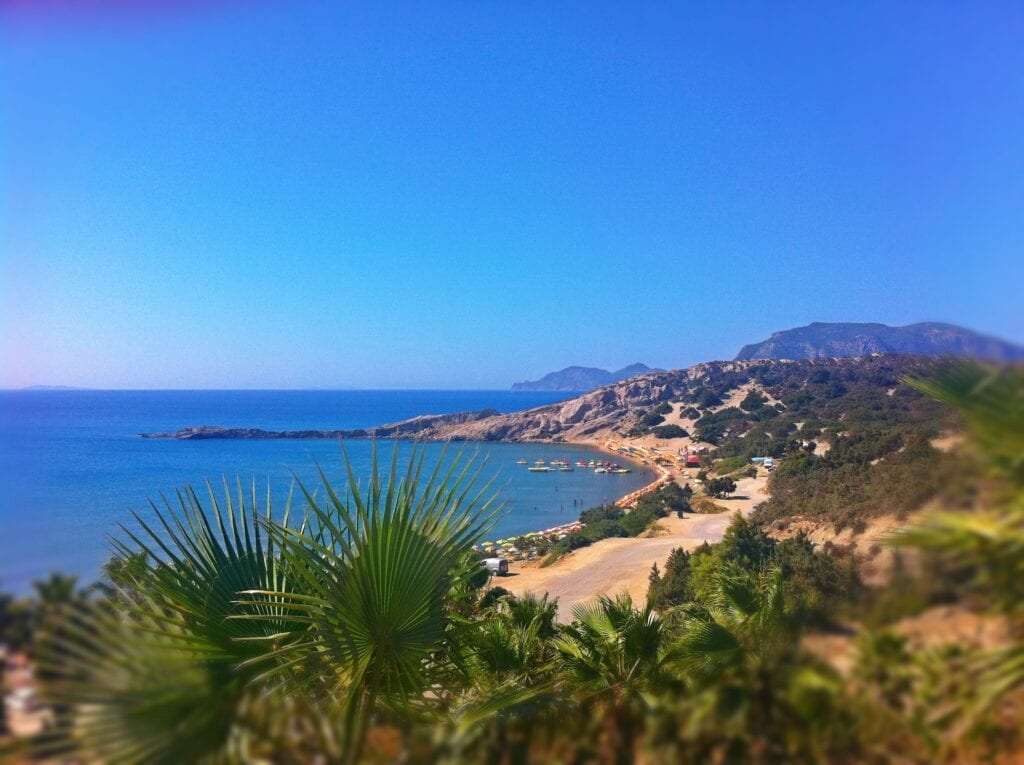 Paradise plajı, Kos, Yunanistan