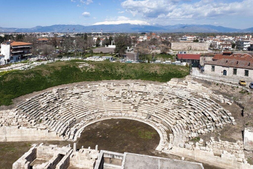 Agios Achillios, Antik Tiyatro, Larissa, Yunanistan