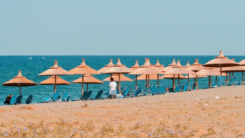 Agiokampos Plajı, Larissa, Yunanistan