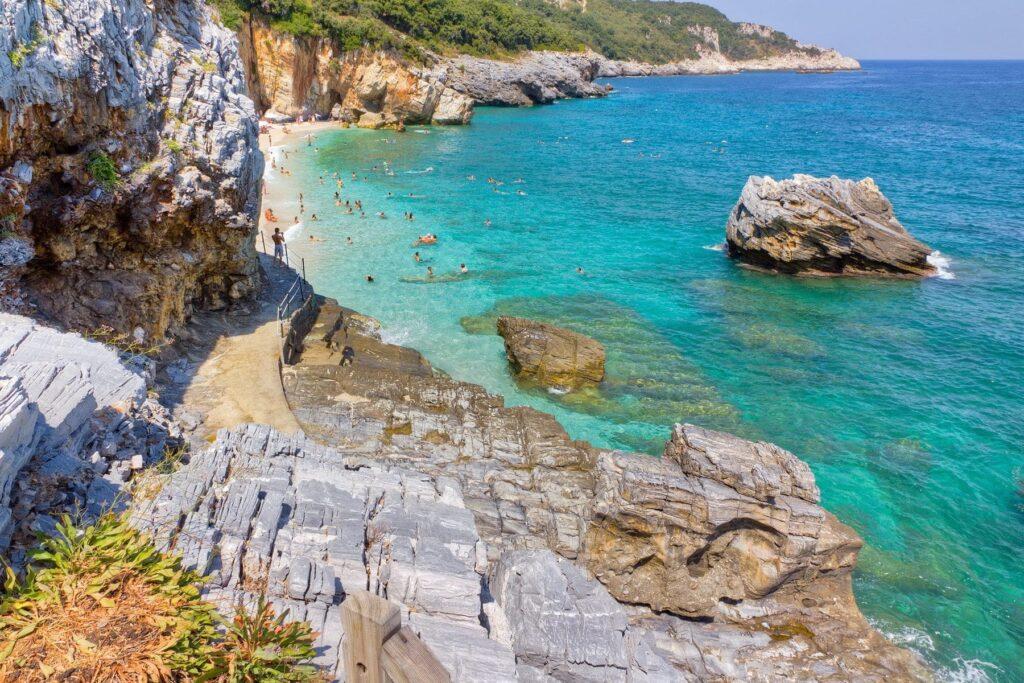 Mylopotamos plajı, Pelion, Yunanistan