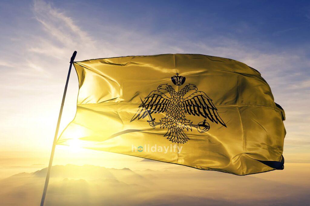 Rum ortodoks kilisesi bayrağı