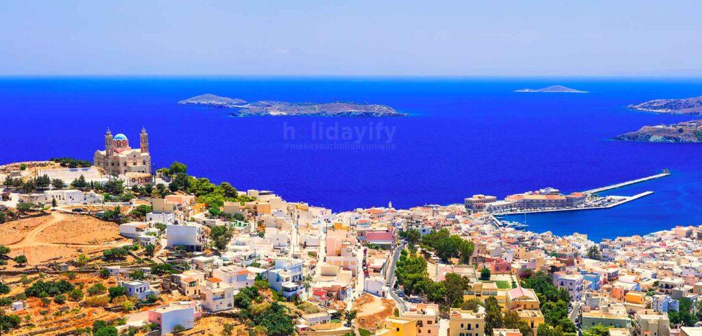 Syros Adası, Yunanistan
