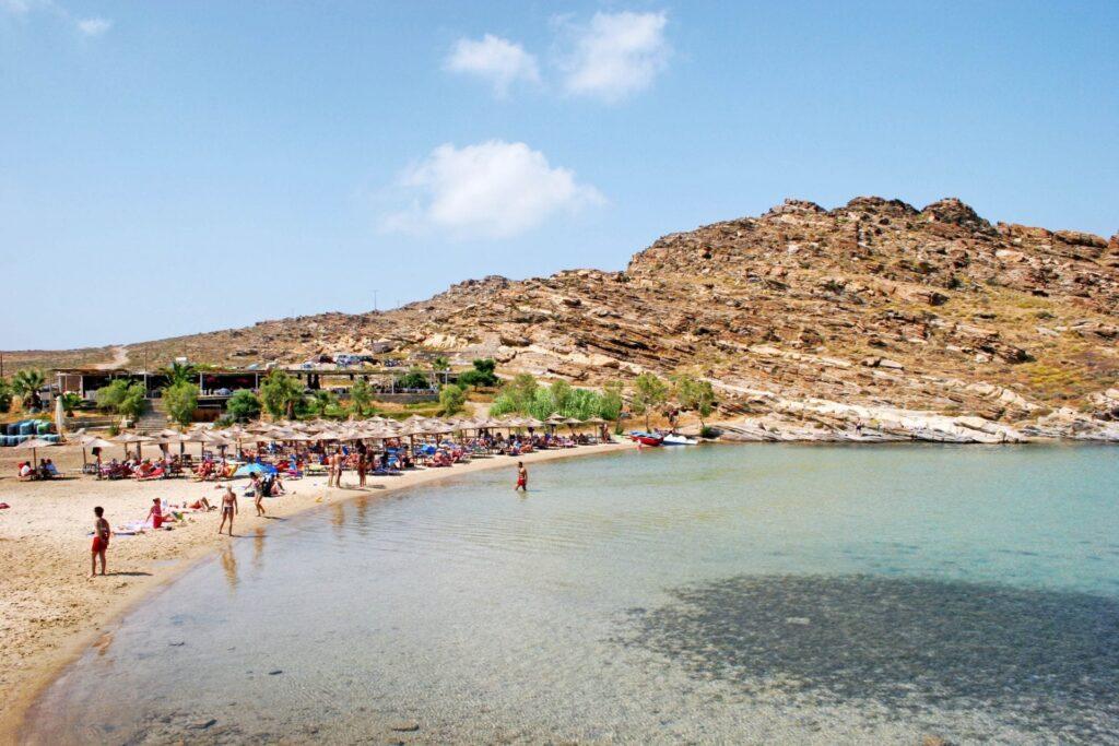 Monastiri Plajı, Paros Adası, Yunanistan