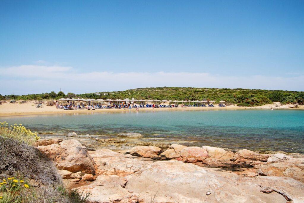 Santa Maria Plajı, Paros Adası, Yunanistan