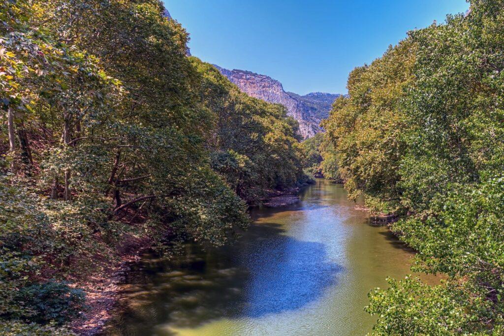 Pineios nehri, Larissa, Yunanistan