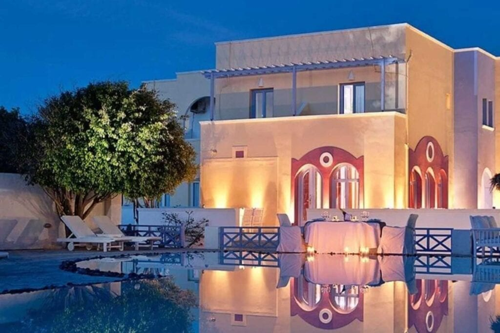 Acqua Vatos Santorini Hotel, Yunanistan