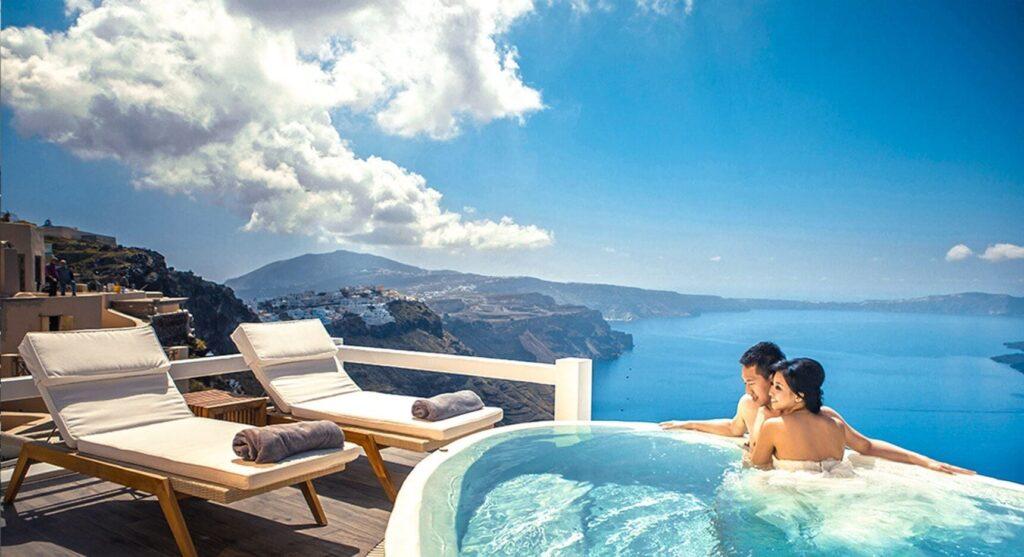 Aqua Luxury Suites, Santorini, Yunanistan