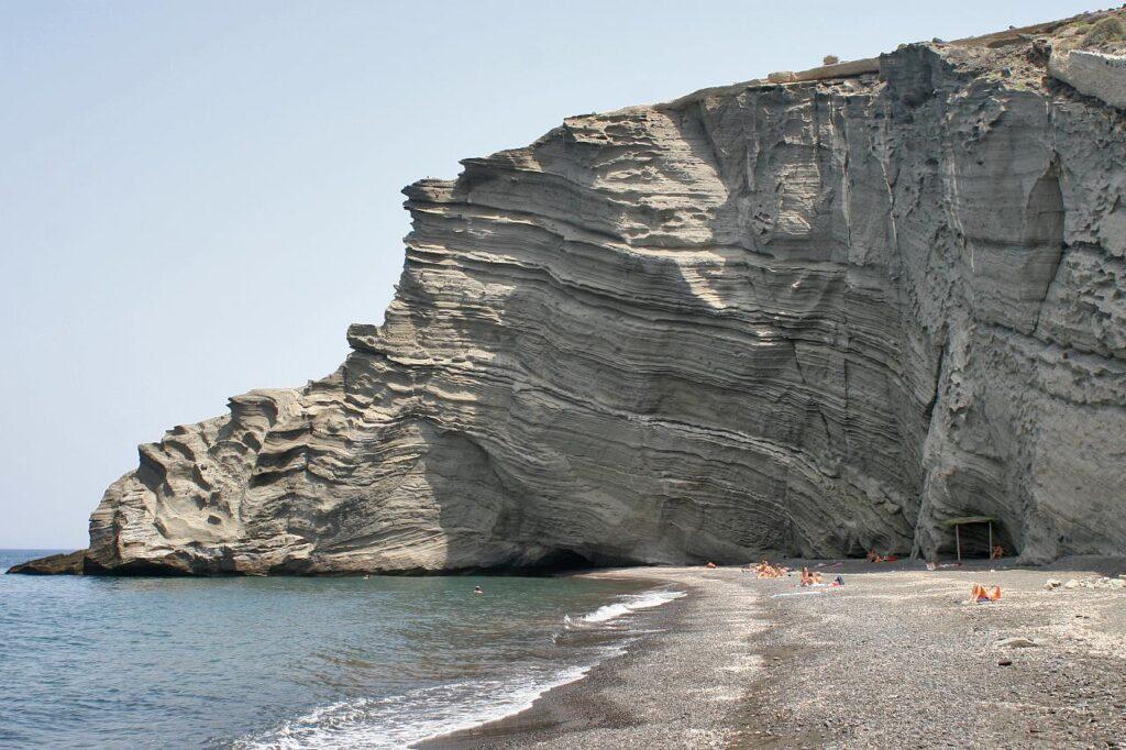 Columbo Plajı, Santorini