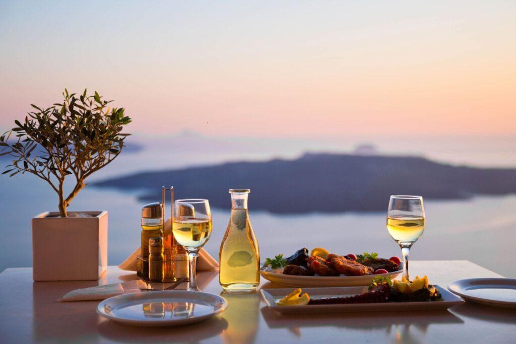 En güzel Santorini restoranları