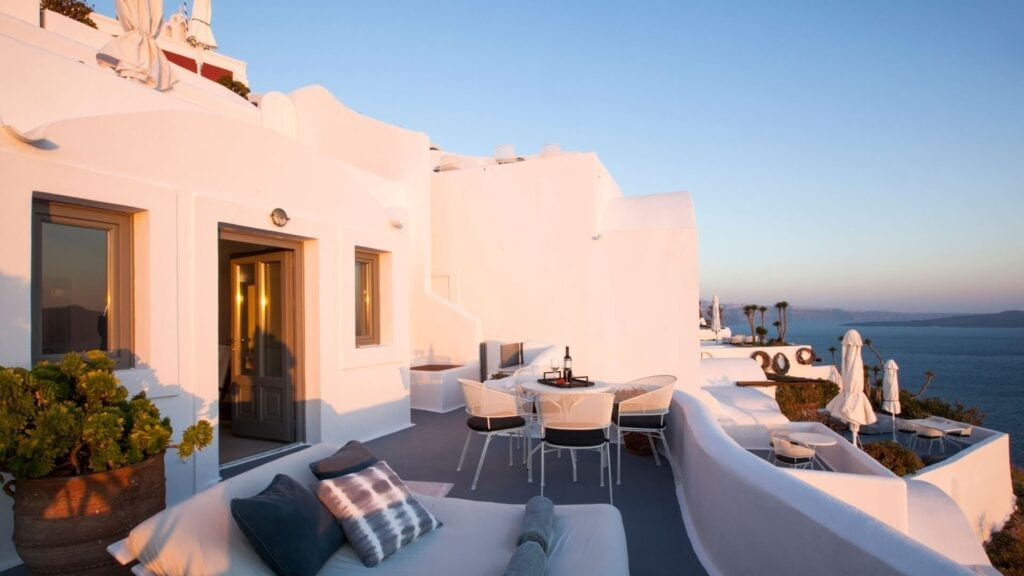 Ikies Traditional Houses, Oia, Santorini, Yunanistan