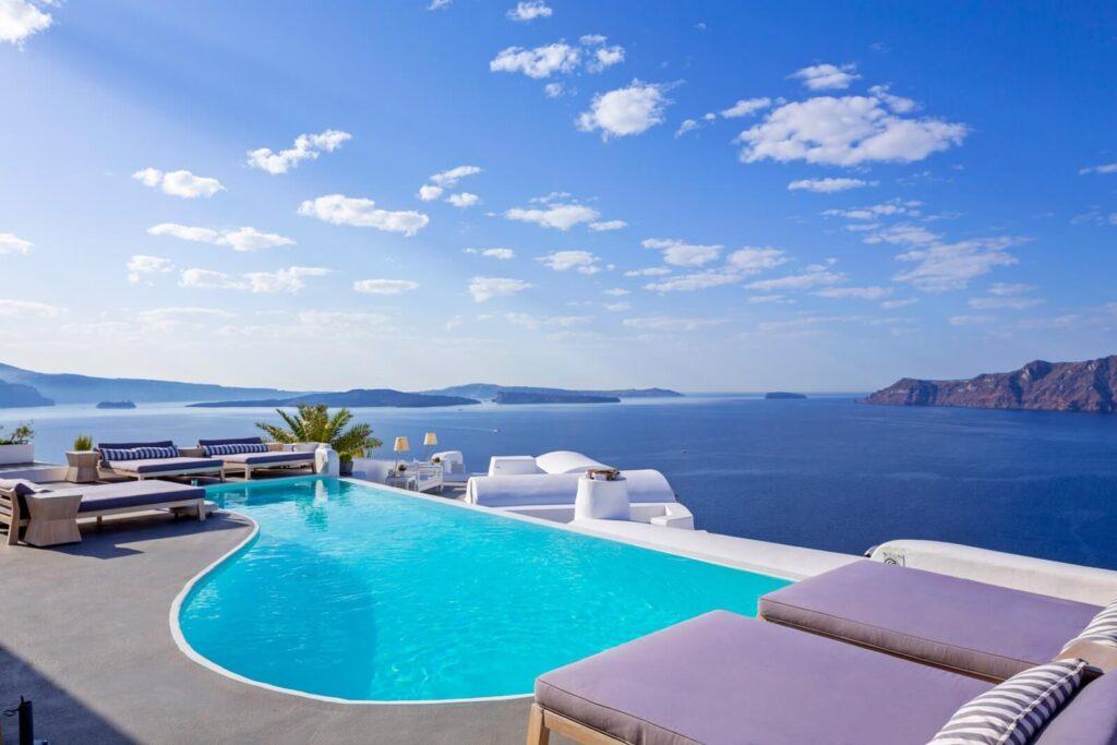 Katikies Hotel, Oia, Santorini, Yunanistan