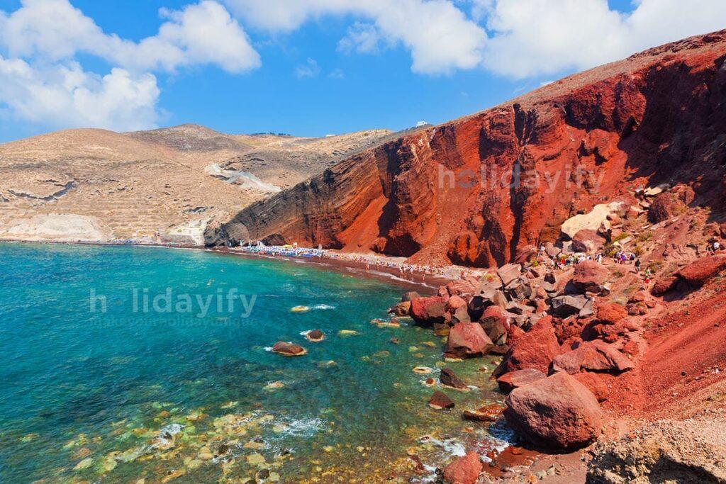 Red Beach / Kırmızı Plaj, Santorini Adası