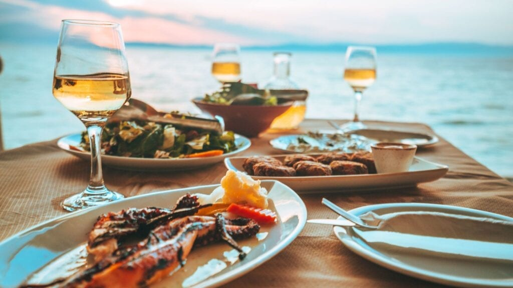Thassos'ta nerede yemek yenir