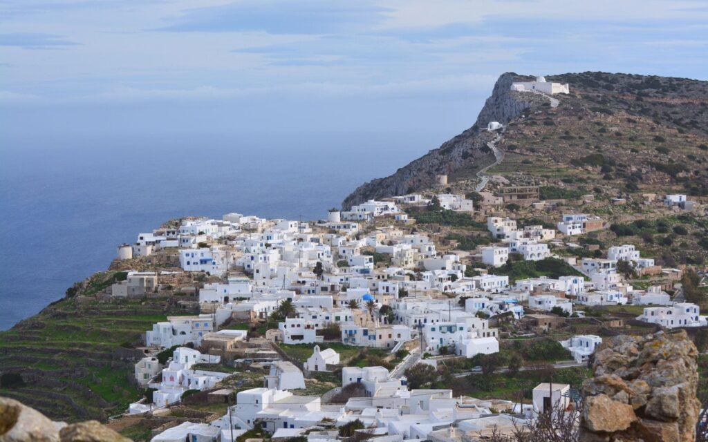 Sikinos Adası, Yunanistan