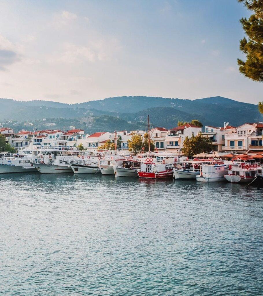 Skiathos Adası