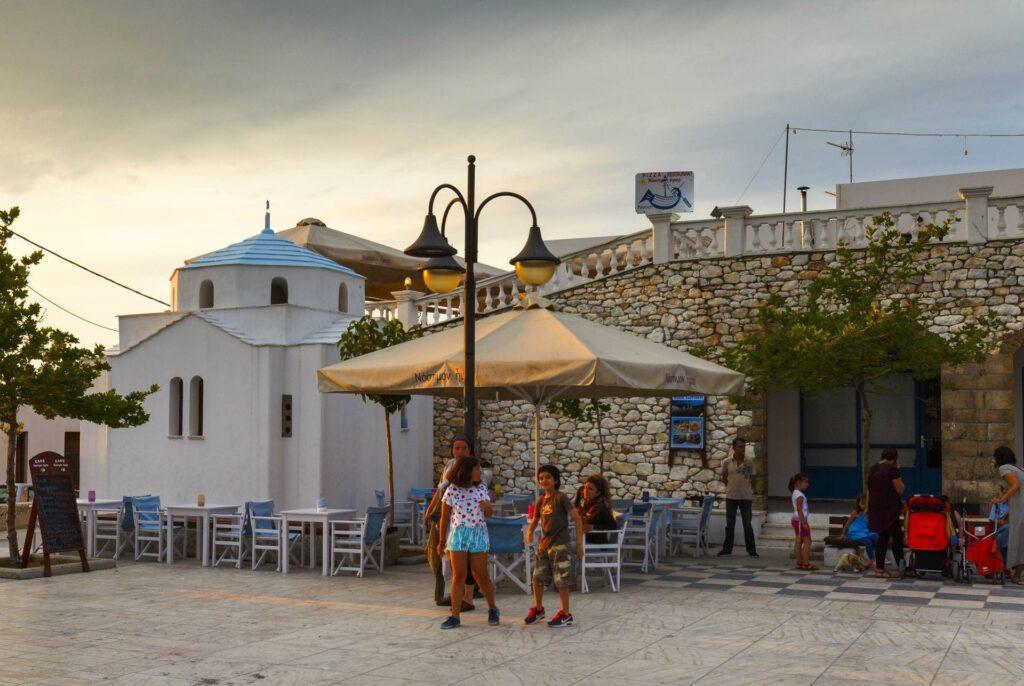 Skyros'ta Yeme ve İçme