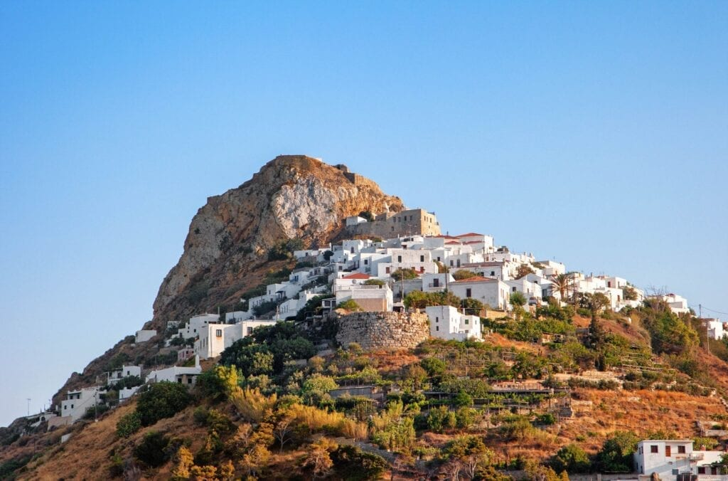 Skyros adasında nerede kalınır