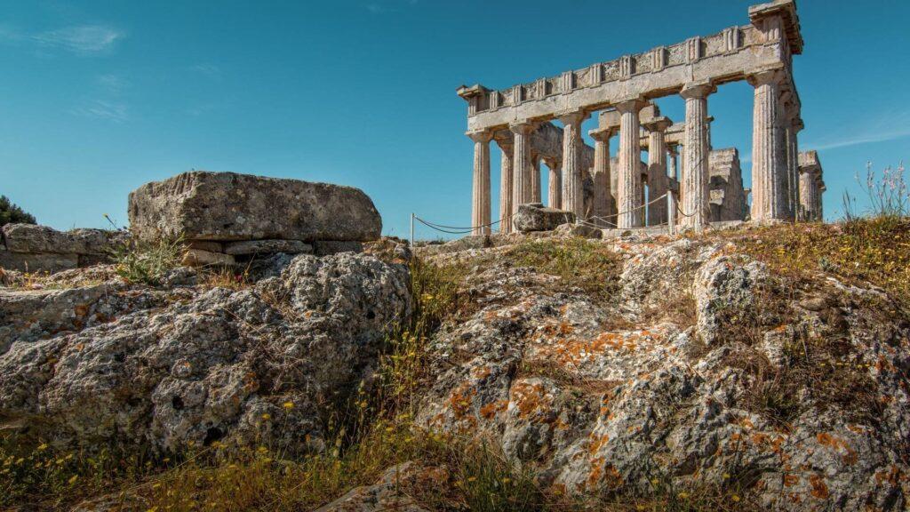 Aphaia Tapınağı, Aegina, Yunanistan